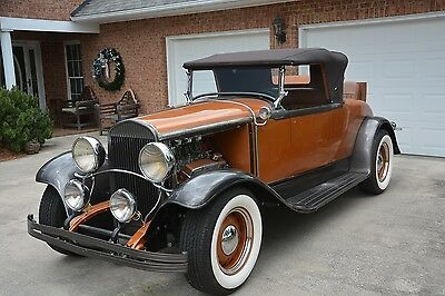 1929 Chrysler Series 75  1929 Chrysler Roadster-Streetrod PROJECT-runs and drives-Rat Rod potential