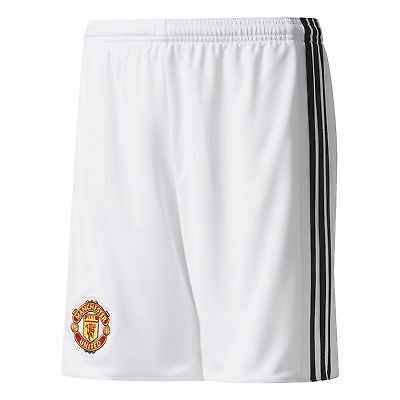 adidas Manchester United Home Shorts 2017-18 Mens Gents Football