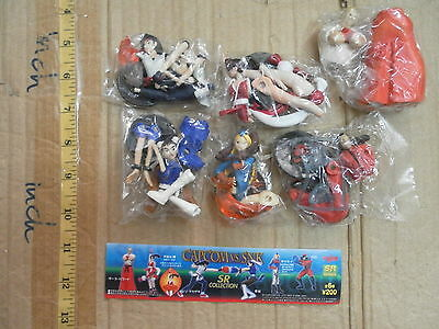 Yujin SR Capcom VS Snk part 1 figure gashapon 6 pcs Mai Chun Li Geese