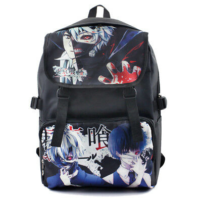 Tokyo Ghoul Waterproof Nylon Backpack Shoulder Bag School Bag Cosplay Prop Gift
