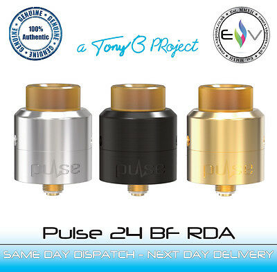 Pulse 24 BF RDA by Vandy Vape. 100% Genuine. Amazing flavour and clouds! BNIB