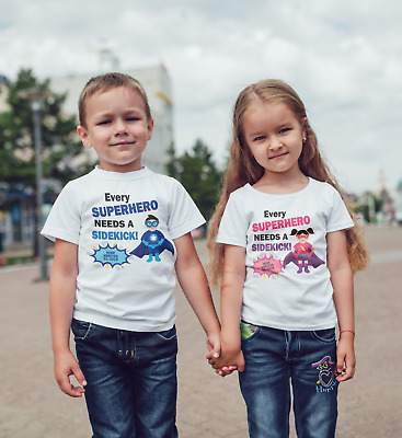 Going to be a Big brother Personalised superhero  T-shirt Pregnancy announcement