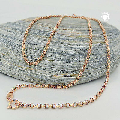 NEW 9K ROSE GOLD Thin Belcher Chain Necklace, 2.0mm, 45cm (511023-45)