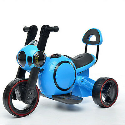 Child Electric Motorcycle Tricycle Baby Scooter Non-slip Protective Design Music