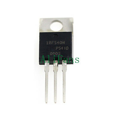 5PCS IRF540N IRF540 TO-220 N-Channel 33A 100V Power MOSFET NEW AU