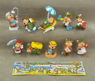 TEDDY BEAR TRUMPET Figure Kinder Surprise TOP TEN TEDDIES OOM-PAH POLKA BAND