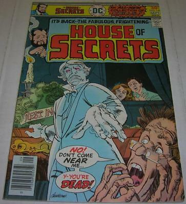 HOUSE OF SECRETS #141 (DC Comics 1976) Bill Finger story (FN+)