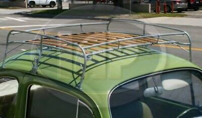 Silver Frame Roof Rack Volkswagen 1949-1977 Bug 1971-1977 Super Beetle VW Type 1