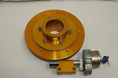 "NEW BYERS 7.1"" 252-th Telescope Drive,With 2"" Clutch, Single-Ended Worm & Motor"