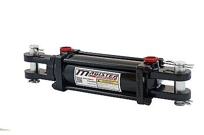 """Hydraulic Cylinder Tie Rod Double Action 3"""" Bore 14"""" Stroke 2500 PSI 3x14 NEW"""
