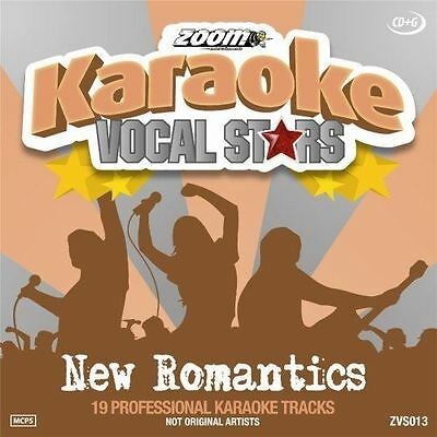 Zoom Karaoke Vocal Stars New Romantics CD + G New Sealed