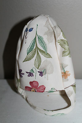 New Longaberger Fabric Liner For Extra Small Gatehouse Basket In Botanical Field