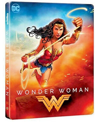 WONDER WOMAN - IL FILM - EDIZIONE STEELBOOK (BLU-RAY) Warner Bros con Gal Gadot