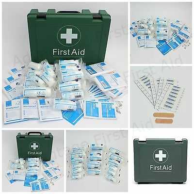 HSE First Aid Kit, Refill, Dressings Only Top Up & Plasters for 1- 50 Person Kit