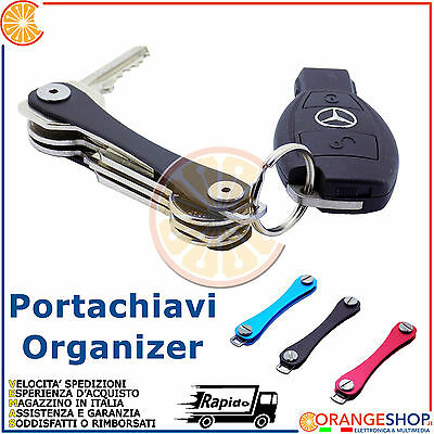 "Key Chain Holder Portachiavi Smart ""slim"" Organizer Intelligente"