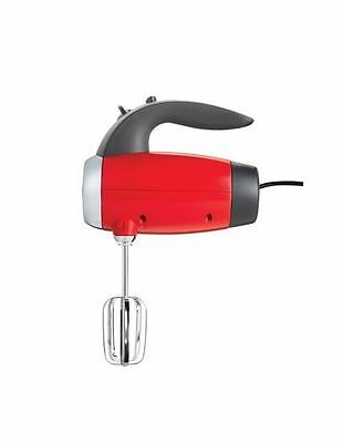 NEW Sunbeam Mixmaster Hand Mixer in Toffee Apple Red JM6600R