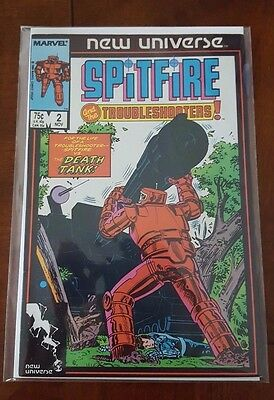 Spitfire and the Troubleshooters #2 (1986) New Universe Marvel Comics