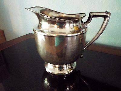 Vintage NICKLE SILVER PLATED  428 WATER PITCHER Nice Condition Free Shipping