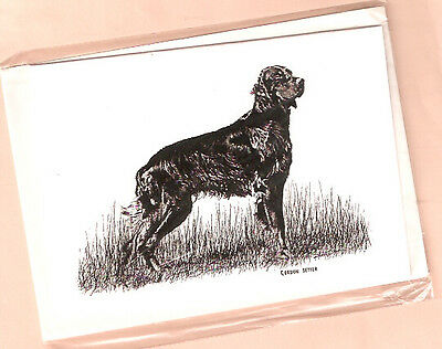 Gordon Setter Full Body Note Card Notecards Pack of 5 from the UK