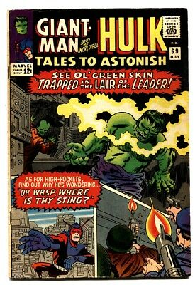 TALES TO ASTONISH #69 comic book-1965-HULK-SILVER AGE-MARVEL-VG