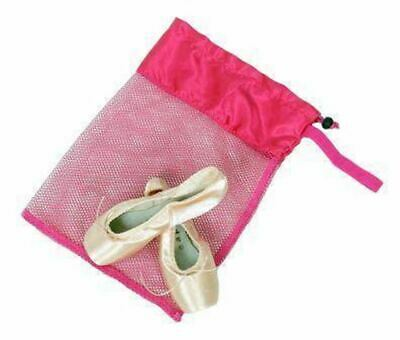 Horizon Dance Ballet Mesh Pointe Shoe Bag - Pink - USA Seller - Free Shipping
