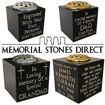 Granite Memorial Headstone 55000 Picclick Uk