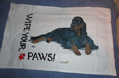 Gordon Setter Wipe Your Paws Towel Micro Fiber No Longer Available