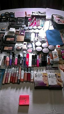 Urban Decay Too Faced Tarte Crown Almay Lorac elf Maybelline & More Lot of 100