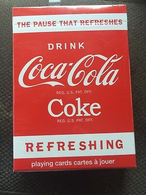 Coca Cola Playing Cards Soda Coke Bicycle 2017 Collectible