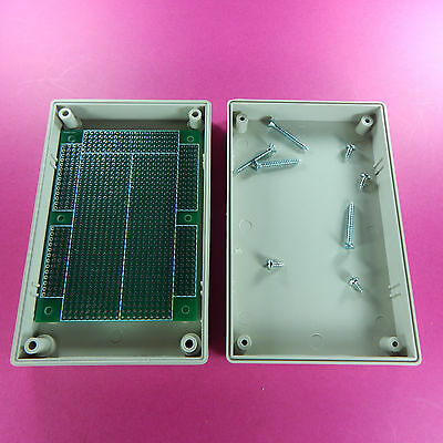 Project Box 125x80x32mm with prototyping pcb