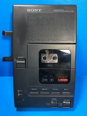 Sony M-2020 Microcassette Dictator/Transcriber - For Parts Only