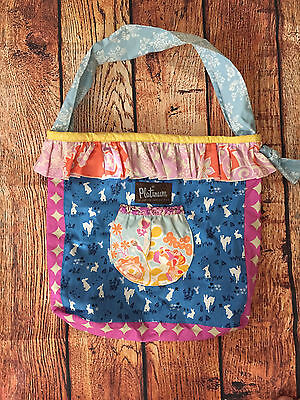 Matilda Jane Platinum Reversible Joey Bag Easter Bunnies, New without Tags!