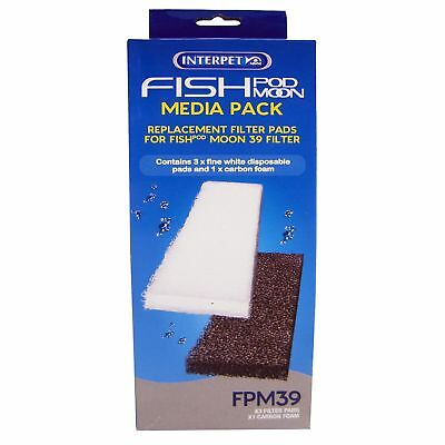Interpet Limited Fish Pod Moon 39 Replacement Filter Pads