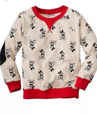 NWT Hanna Andersson Disney Parks Collection Mickey Girls Boys Sweater 130 8 10