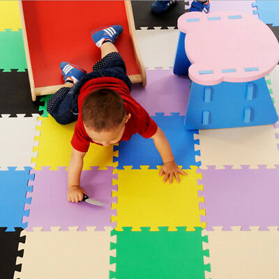30X30cm 9pcs/lot EVA Foam baby Interlocking Exercise Gym Floor play mats S6