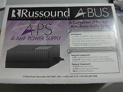 Russound A-BUS  A-PS 4-Amp 24 Volt DC Power Supply, OEM, New, ABUS Free Ship