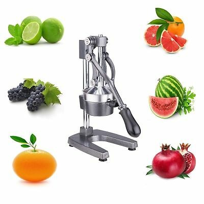 Commercial Manual Juicer Juice Extractor Hand Press Squeezer Orange Fruit DIY
