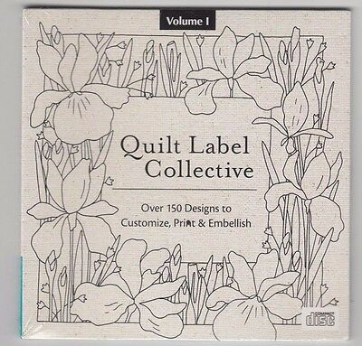 Quilt Label Collective - 150 designs to customise, print & embellish - CD