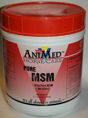 AniMed Ultra Pure MSM Powder 2.5 Pound Horse Care