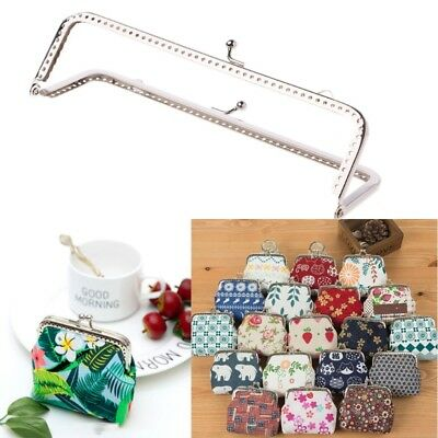 1PC 18cm Square Metal Frame Kiss Clasp For DIY Handle Bag Purse Accessories