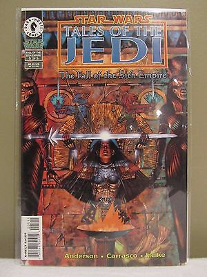 Star Wars Comic Book Tales of the Jedi - The Fall of the Sith Empire 5 of 5
