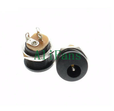 5PCS DC 022 Power Outlet Inner Pin 2.1mm 5.5x2.1mm Diameter 5.5mm