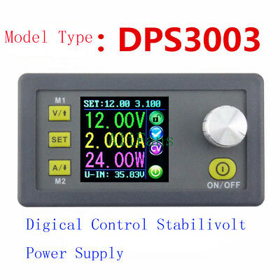 DPS3003 Voltage Current LCD Programmable Step-down Power Supply Module Converter