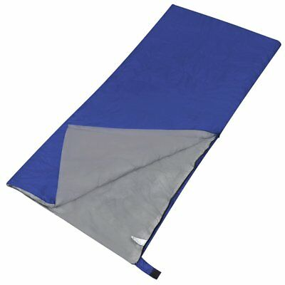 Best Single Outdoor Camping Envelope Sleeping Bag Thermal Hiking Winter 5°C Blue