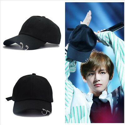 KPOP BTS LIVE THE WINGS TOUR Hat Bangtan Boys Ring Baseball Cap Adjustable