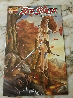 Red Sonja She Devil With A Sword #7 Nm C Variant 1St Print Dynamite Comic 1