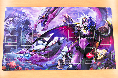 F1664n Free Mat Bag Yugioh Yubel Trading Card Games Playmat TCG Mat New Layout