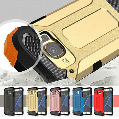 Hybrid Heavy Duty Shockproof Full Body Protective Case Cover For iPhone Samsung