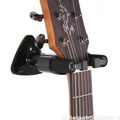 Guitar Wall Mount Hanger Stand Holder Hooks for Acoustic/Bass/Electric/Ukulele F