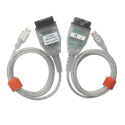 For BMW INPA K+DCAN K+CAN Ediabas SSS NCS OBD2 USB Interface Diagnostic Cable